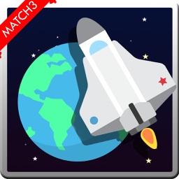 Match Space Planet Puzzle Adventure