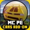 ONE CLICK TO INSTALL 12 CARS TO MINECRAFT PE: POCKET EDITION