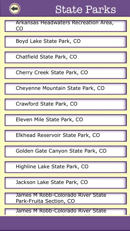 Colorado Camping & Hiking Trails,State Parks screenshot-3