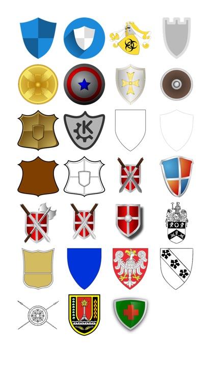 Shields Three Sticker Pack
