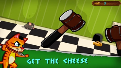 Rat Escape - Help dodge traps and grab the cheese