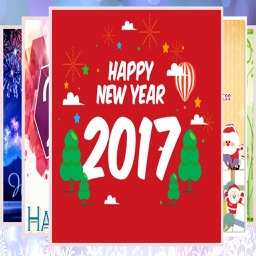 New Year Greetings Card 2017