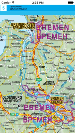 Tourist Map Of Germany.Germany Road And Tourist Map