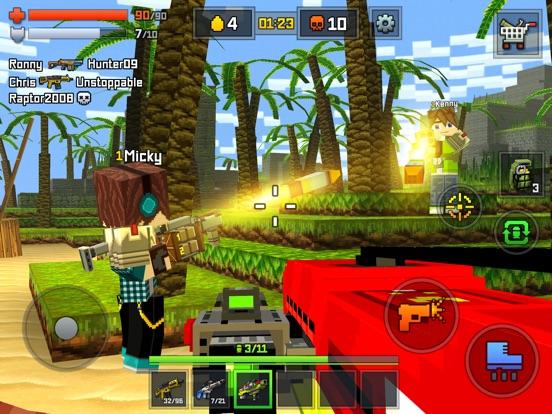 Скачать игру Pixelmon shooting - online multiplayer shooter # 1