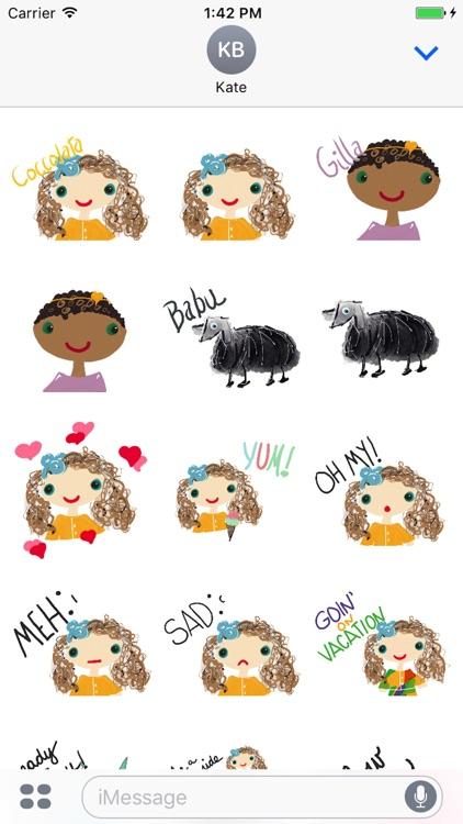 Coccolata Stickers