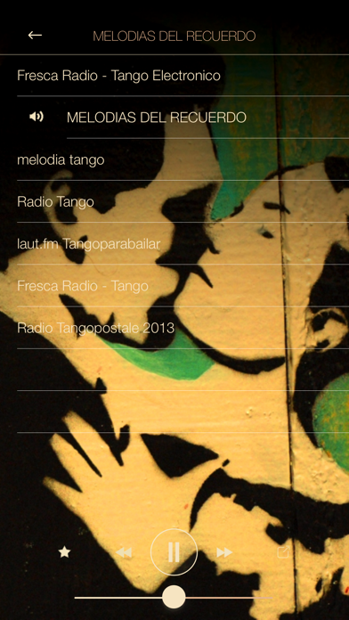 Tango Music Radio ONLINE FULL screenshot two