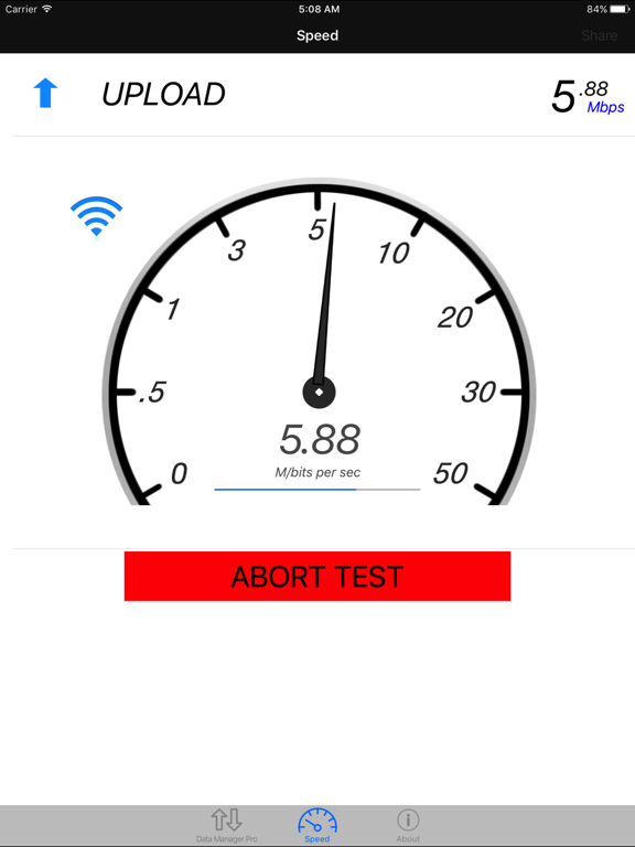 Data Manager - Data Usage with Speed Test screenshot