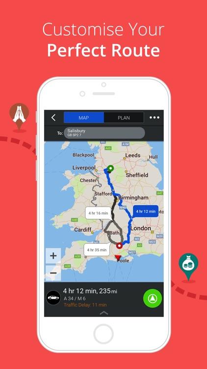 CoPilot UK & IRE – Offline Sat-Nav, Maps & Traffic