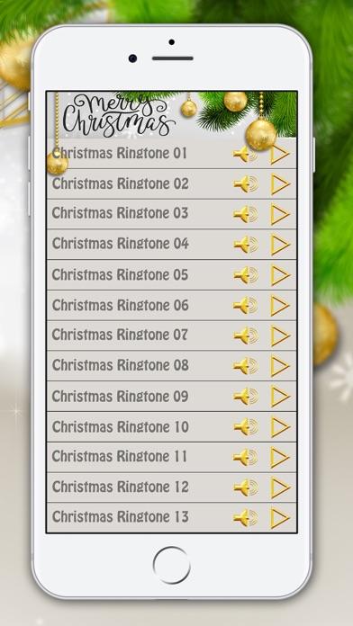 screenshot 2 for christmas ringtones free holiday ringing sounds - Free Christmas Ringtone