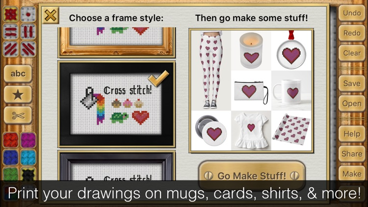Cross Stitch Maker: Draw Realistic Embroidery!