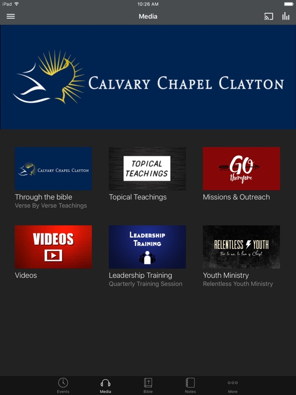 Calvary Chapel of Clayton - NC screenshot 5