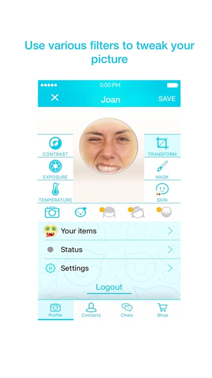RealSmile Chat Stickers