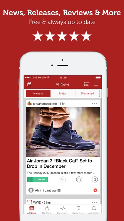 Sneaker News & Release Dates by Newsfusion Ltd