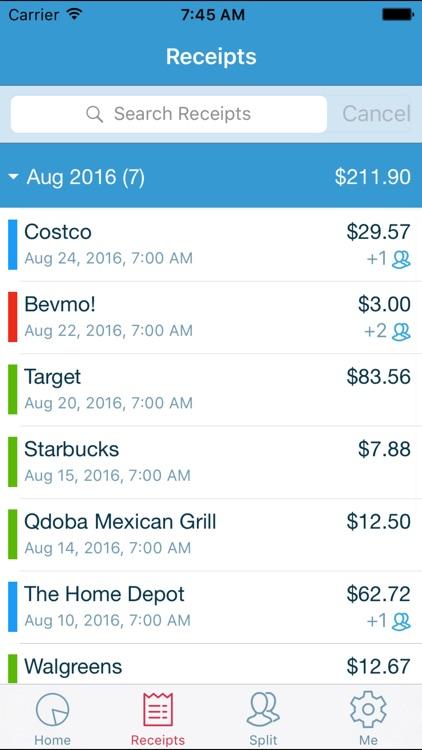 ReceiptApp - Track Receipts & Expenses