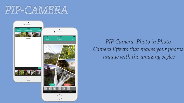 Pip Camera - Magazine Cover Photo & College Photo