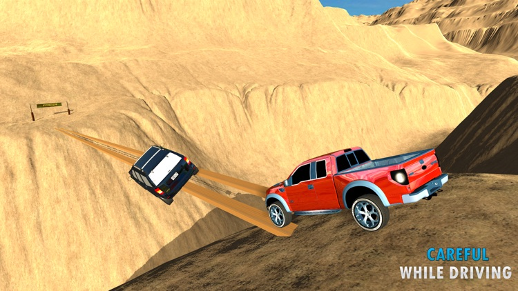 Offroad Mountain Jeep Driving Simulator