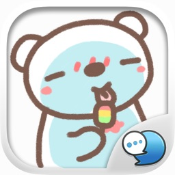 HereMhee Lovely Bear Stickers Emoji By ChatStick