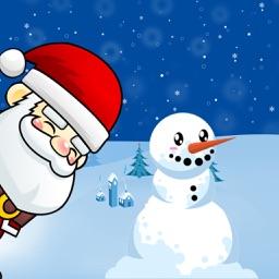 Santa In Snow Run