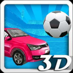 3D Car Soccer with Nitro Boost