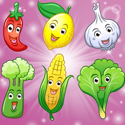 Fruits and Vegetables for Toddlers and Kids