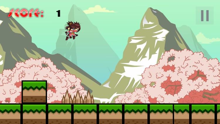 Super Japan - Addicting Ninja Jump Game for Girls screenshot-3