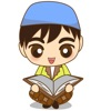 Adam, funny moslem boy for iMessage Sticker