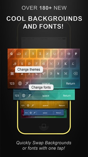 Cool Fonts Keyboard Pro- Custom Themes and Skins Screenshot