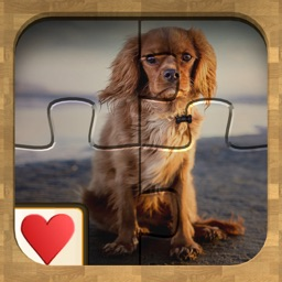 Jigsaw Solitaire Dogs