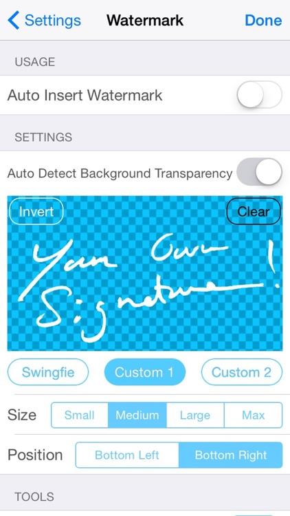 Swingfie screenshot-4