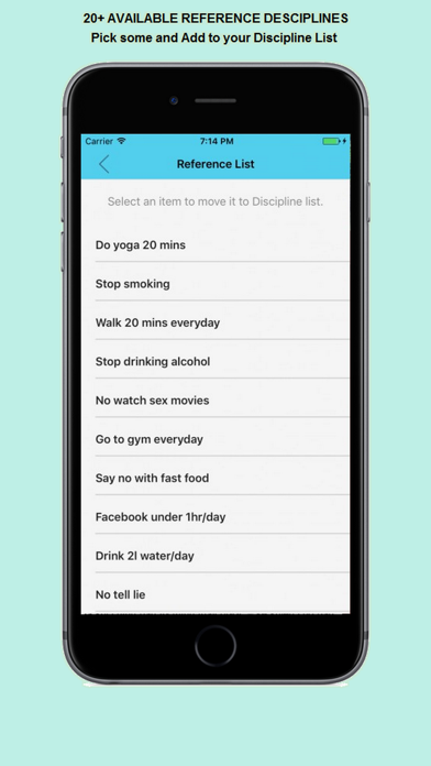 Self-discipline: build good habits,make happy life screenshot three