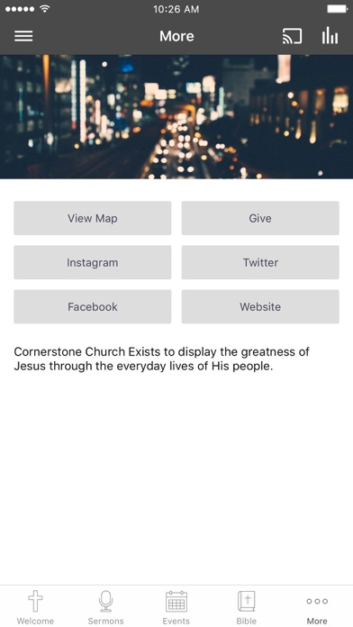 Cornerstone Church ATL screenshot 3