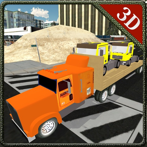 Truck Transporter Lorry Simulator & Cargo delivery iOS App