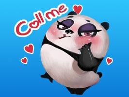 Sexiest Panda Sticker