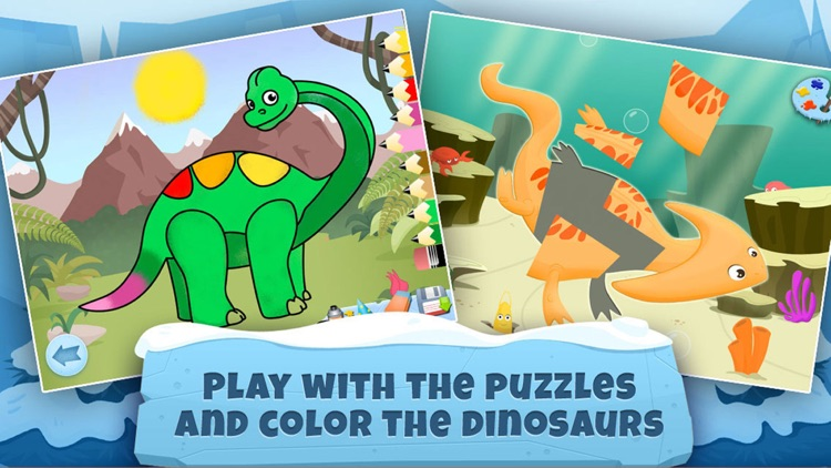 Archaeologist Dinosaur - Ice Age - Games for Kids screenshot-4