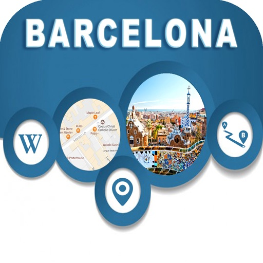 Barcelona Spain Offline Map Navigation GUIDE