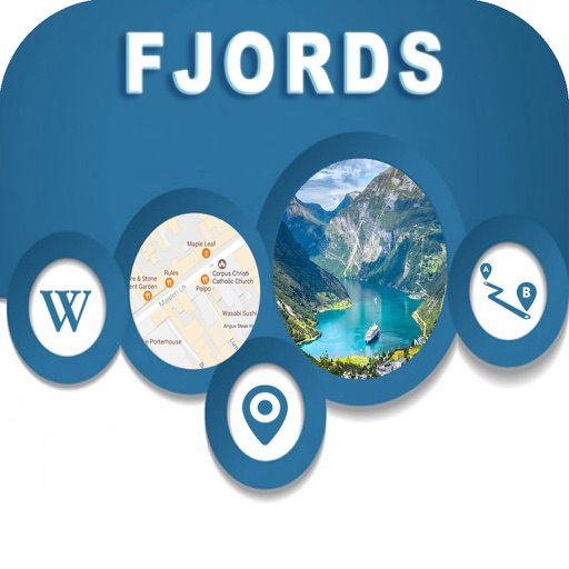 Fjords of Norway Offline City Maps Navigation