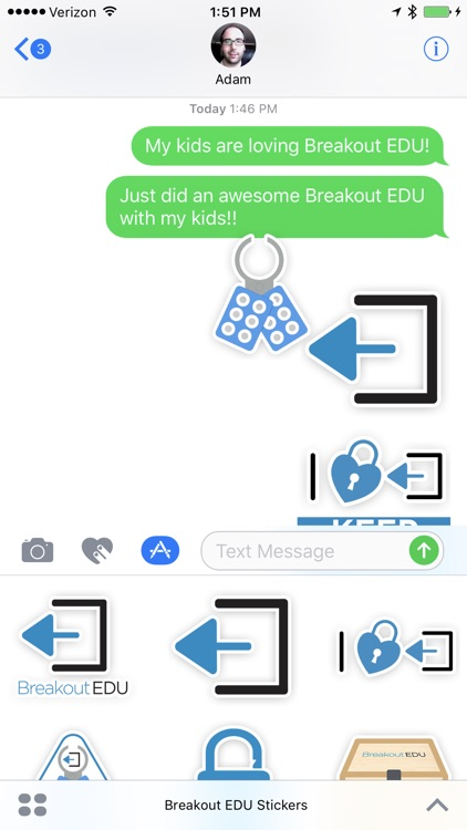 Breakout EDU Stickers