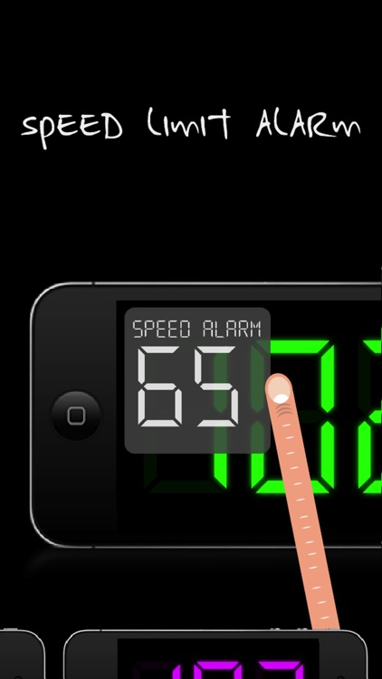 SpeedGlow Speedometer - Gesture Controlled Speedo screenshot-4