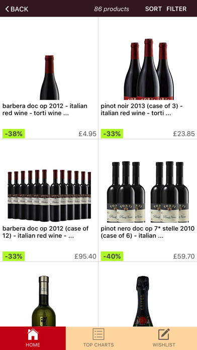 Wine Outlet screenshot two