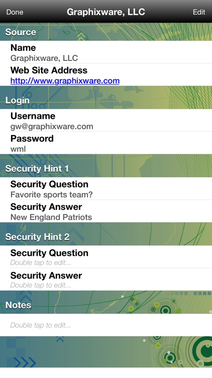 What's My Login?