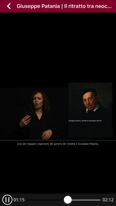 Segni d'Arte Videoguida in LIS screenshot 3