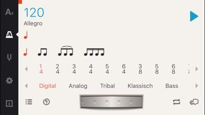Screenshot for Cadenza: Tuner + Metronom in Austria App Store