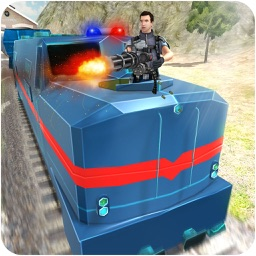 Police Train Simulator – The Gunship Battle Zone