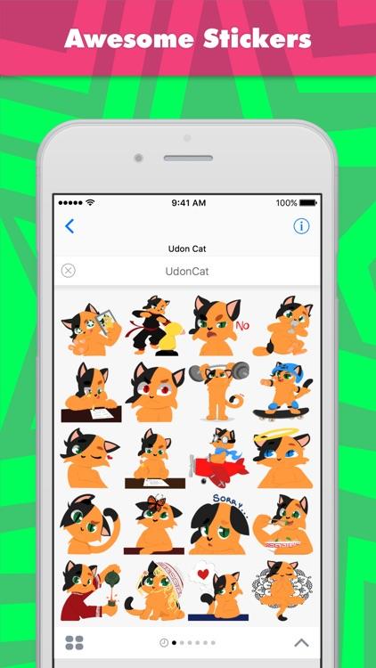 UdonCat stickers by UdonCat