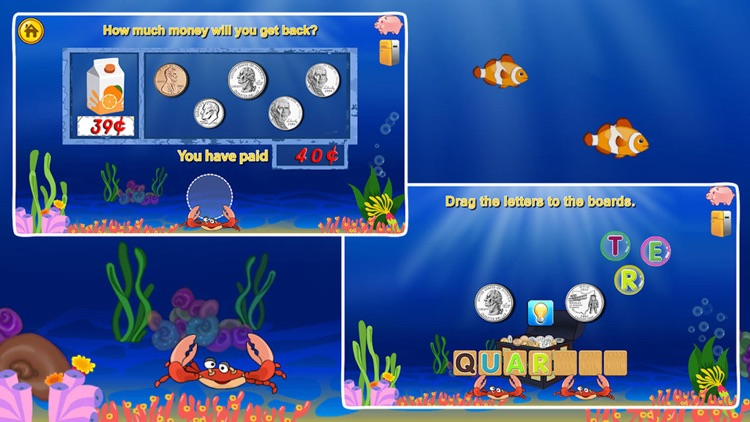 Amazing Coin(USD)- Money learning & counting games screenshot-4
