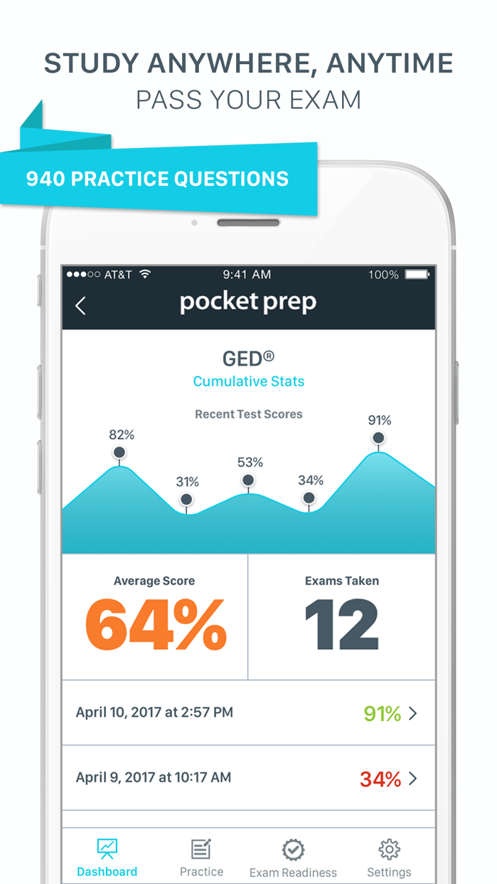 GED Pocket Prep Screenshot