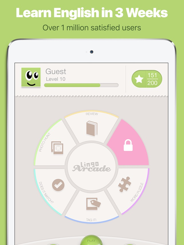 Learn English with Lingo Arcade on the App Store