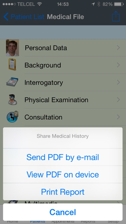 iDoctor Pro - Patients Medical History screenshot-4