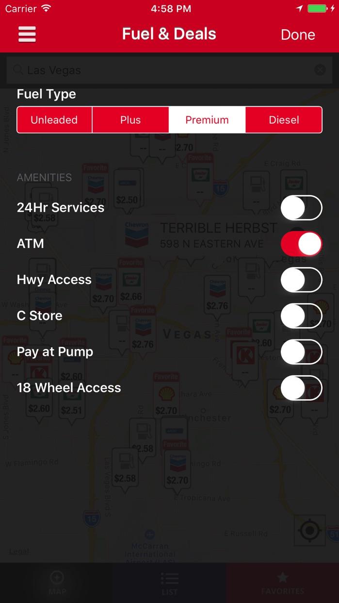 Fuelman Mobile Locator Screenshot