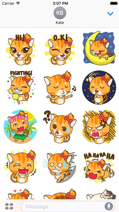 huge discount 379c9 2a7b5 Sonya the sassy cat for imessage sticker miinu limited jpg 392x696 Sonya  pony decal cat roblox